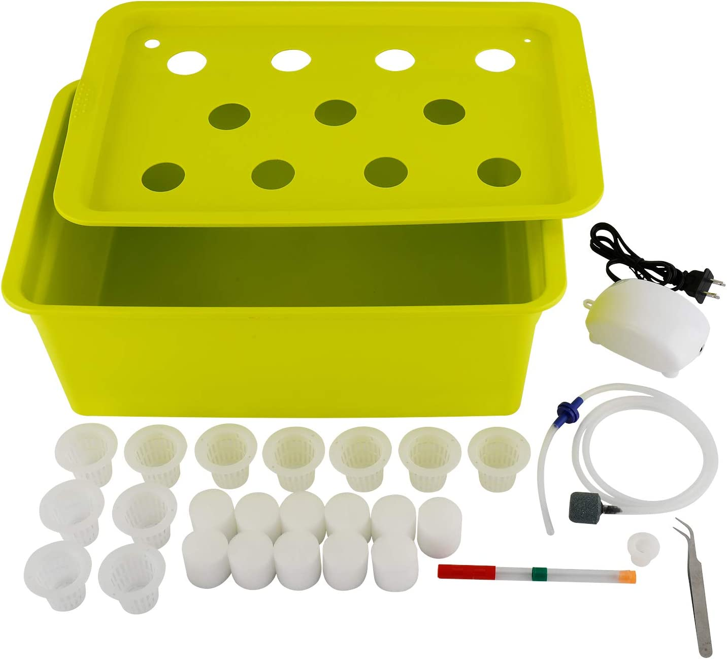 Max 86% OFF YaeMarine We OFFer at cheap prices Hydroponics Grower Kit Hydroponi Indoor Watering Self