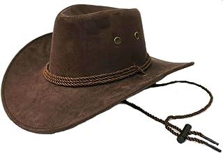 Micopuella テンガロンハット スエード つば広 カウボーイ ウエスタン ハット メンズ コットン 帽子 ワイルド 男性
