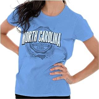 State of North Carolina Game Day Student NC Ladies T Shirt