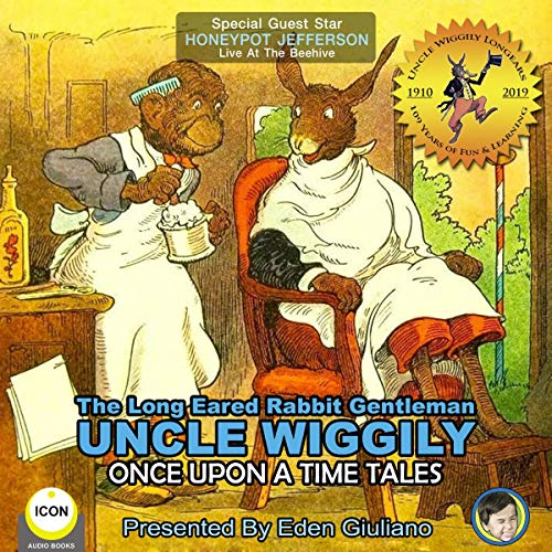 The Long Eared Rabbit Gentleman Uncle Wiggily - Once upon a Time Tales Titelbild
