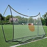 QUICKPLAY Spot Target Football Rebounders - 7x7'| Multi-Sport Ball Skills Training - with free eCOACH training app