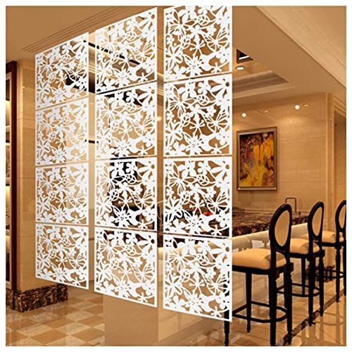 BMNN Hängeraumteiler Schmetterlings-Vogel-Blumen-Hänge Paravant Divider Panel Raum Vorhang Home Decor Hängender Raumteiler