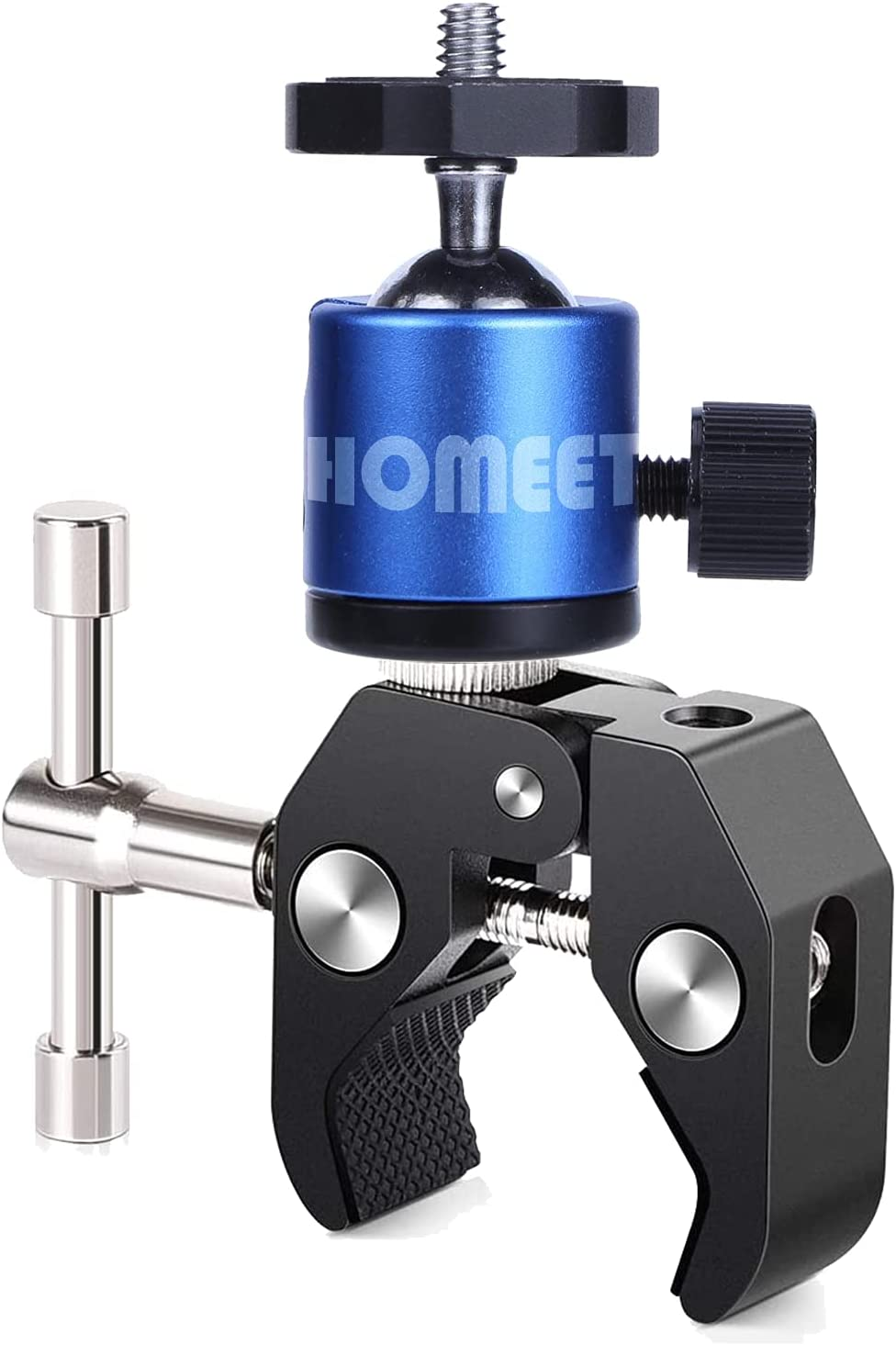 Homeet Super NEW before selling Clamp Mount Ballhead Stands Arm Metal Luxury goods wit Magic