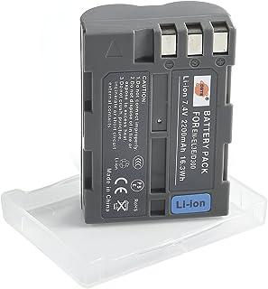 DSTE EN-EL3e Li-ion Batería para Nikon D30 D50 D70 D70S D90 D80 D100 D200 D300 D300S D700