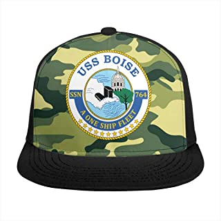 HONGPINGfamao Navy Submarine SSN 764 USS Boise Baseball Caps Plain Cap Snapback Dad Caps