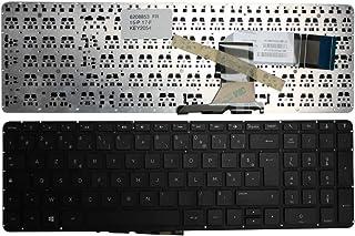 Keyboards4Laptops Francés Negro Windows 8 Teclado de Repuesto para Ordenador portátil Compatible con HP Pavilion 17-f204ns