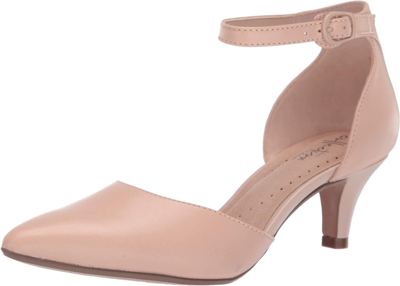 Clarks - Linvale Edyth Damen, Beige (Nude Leather), 39.5 EU W