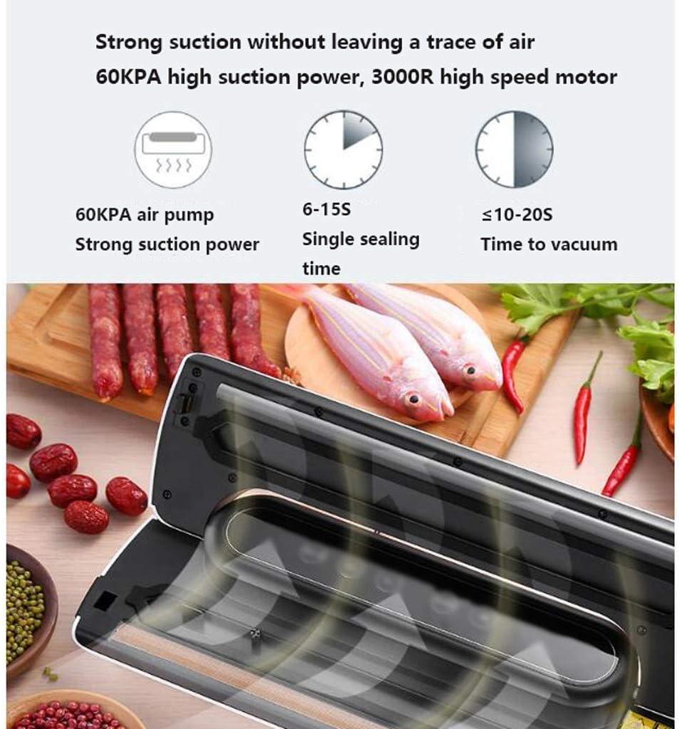 Yppss Sec Moist Vide Scellant Alimentaire Modes Machine d'emballage en Plastique Facile à Nettoyer Ménage Commercial Eternal (Color : Green) Brown