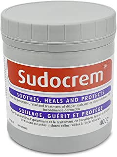 Sudocrem - Diaper Rash Cream for Baby, Soothes, Heals, and Protects, Relief and Treatment of Diaper Rash, Zinc Oxide Cream...