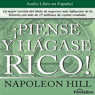 Piense y hagase rico [Think and Grow Rich] cover art