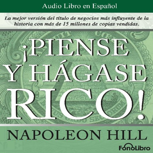 Piense y hagase rico [Think and Grow Rich] Titelbild
