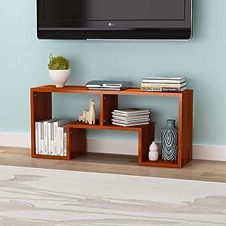 HALODN Meuble TV MDF À Vent Nordique, Table Basse Simple Armoire De Stockage, Meubles De Salon Multifonctions De Stockage ...
