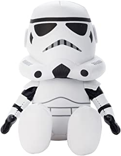 Star Wars beans collection Stormtrooper stuffed toy sitting height about 14cm