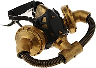 Baosity Steampunk Halloween Gas Mask Cosplay Stage Performance Party Respirator Mask