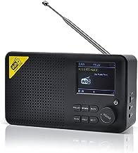 Pocket Dab Digital Radio with Bluetooth 5.0 - Personal DAB+ FM Radio USB Powered and 2000 Mah Battery Powered - Small Port...