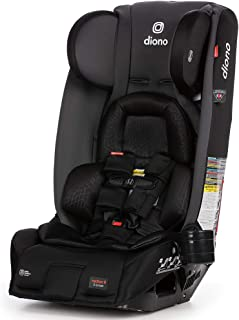 Diono 2020 Radian 3RXT, 4-in-1 Convertible, Extended Rear Facing, 10 Years 1 Car Seat, Fits 3 Across, Slim Fit Design, Gray Slate
