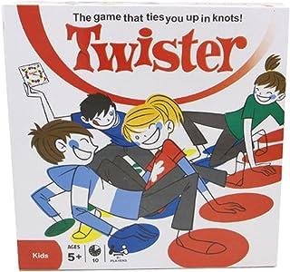 crayfomo Twister Game Juego de Suelo /Juegos Twister