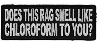 Best does this rag smell like chloroform Reviews