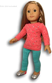 American Girl - Cool Coral Outfit for dolls - Truly Me 2015 by American Girl