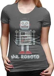 Mr Roboto Women's Trend Short-Sleeved T-Shirt Tshirts