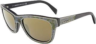 ديزل نظارة شمسية عصرية شبه مربعة واي فيرير للجنسين - DL0111F 98G - 54-18-145 mm