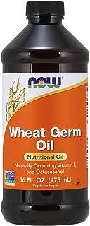 زيت جنين القمح للبشرة والشعر وفوائد عدة - Now Foods Wheat Germ Oil 473 ml