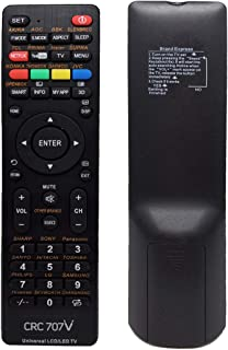 TERSELY Universal LCD/LED/3D Replacement TV Remote, with Netflix YouTube for LCD/LED TV HDTV Remote Controller Samsung/Pan...