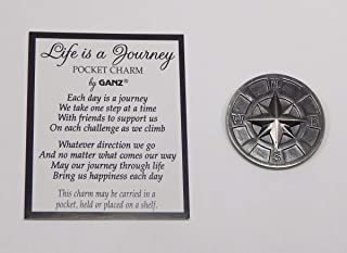Life is A Journey Pocket Charm by Ganz