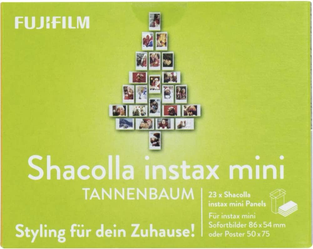 Shacolla Christmas Al sold out. Tree for instax Same day shipping Mini Pictures