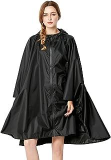 Nuovo Donna Trasparente Vinvl Impermeabile Festival Giacca Cappotto Anti Pioggia