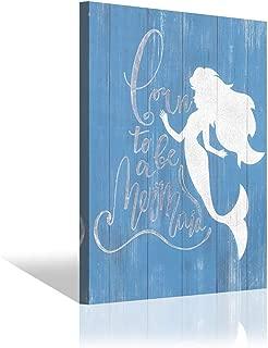 Best little mermaid canvas painting Reviews
