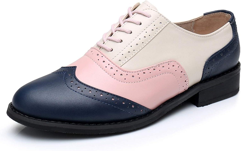 Functionaryb Frauen Wohnungen Oxford Schuhe Schuhe Echtes