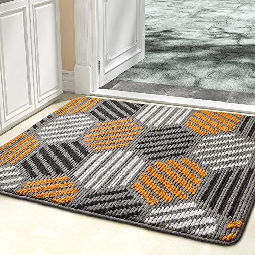 Color&Geometry Indoor Doormat, Indoor Outdoor 32'x40' Mat Waterproof, Non Slip Washable Quickly...
