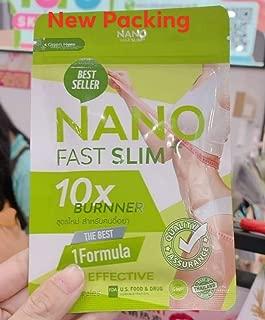 1X Nano Fast Slim 45 Capsules Fat Burner