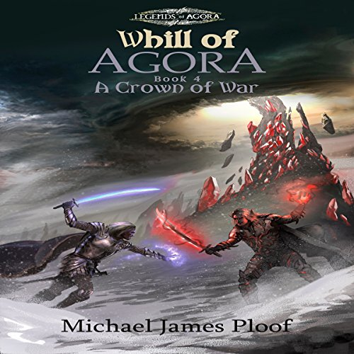 A Crown of War audiobook cover art