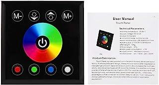 Okuyonic Panneau Tactile ABS Coloré de Contrôleur D'écran Tactile de LED de RGBW Fixé au Mur pour la Lumière de Bande de L...