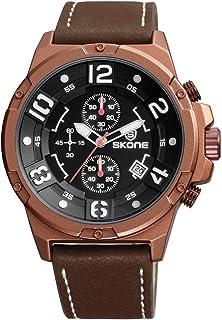 SKONE Fashion Casual Watch 3ATM Water-resistant Quartz Watch Luminous Men Wristwatches Male Relogio Musculino