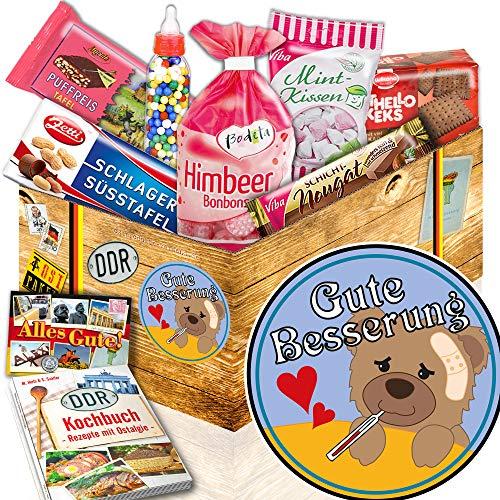 Gute Besserung / Geschenk Krankenbesuch / Süßes Ostpaket