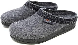 Stegmann Women's Wool Felt Clog with Polyflex Sole (8.5 B US, Grey)