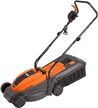 Ferm LMM1012 - Cortacésped eléctrico, 1300 W, 240 V, naranja y negro