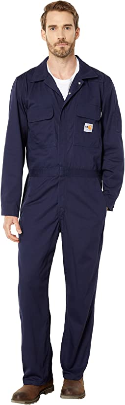 Flame-Resistant Traditional Twill Coveralls