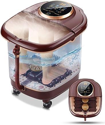 温浴、マッサージローラー、泡、デジタル調節可能な温度制御付きフットスパマッサージ