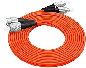 LC/SC/FC/ST 62.5/125 Duplex Multimode 3.0mm Fiber Optic Patch Cable (15m, FC-FC)