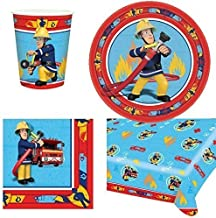 Fireman Sam Party Tableware Pack