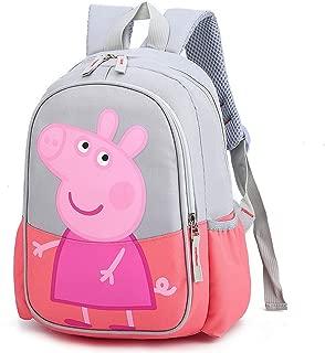 Peppa Pig Backpack Cartoon Design for Kids Children School Bag Laptop Computer Bagpacks Boy Girls Fashion Book Bags Satchel