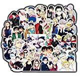 DOFE 50 PCS Yuri on ice Stickers,Car Stickers 50 pcs, Laptop Stickers,Motorcycle Bicycle Luggage Decal Graffiti Patches for Teens. (50 PCS Yuri on ice)