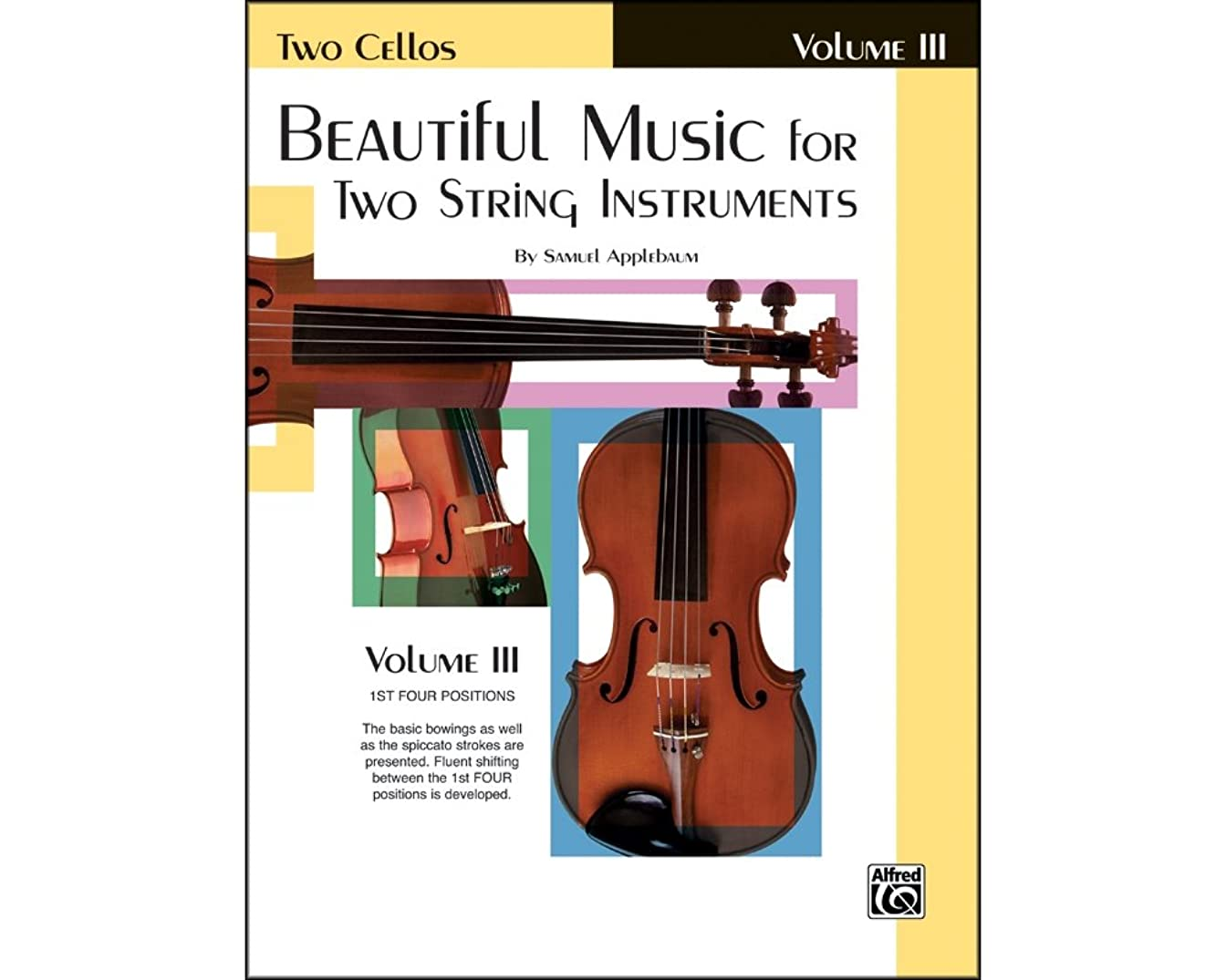 Alfred Beautiful Music for Two String Instruments Book III 2 Cellos