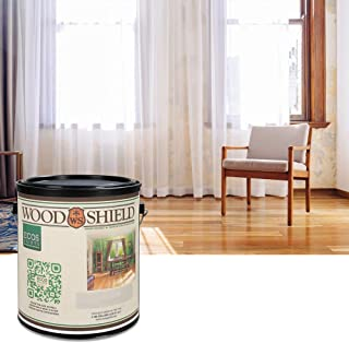 ECOS WoodShield Interior Gloss Wood Varnish, 1 Quart, Clear