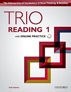 Trio Reading 1 Student Book with Online Practice
