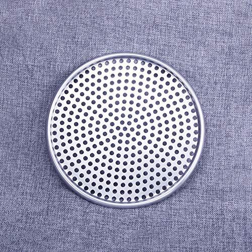 LNIMIKIY Piastra per teglia per Pizza Foro Forato Tondo Stampo in Alluminio Utensili da Cucina Vassoio Antiaderente Cottura Accessori per teglie Anche Riscaldamento(8)